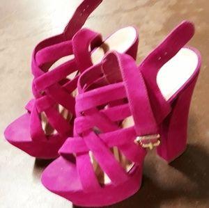 Jessica Simpson Suede Sandals